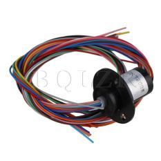 Promo 12 Wires 2A Ac240V Micro Collector 250Rpm Capsule Slip Ring Oem Terbaru