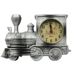 120-SZ Antik Retro Kereta Gaya Siswa Jam Alarm Meja Desktimeclockcool Model Kereta Rumah Kantor Shelf Decorationnoveltybir-Internasional