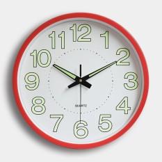 Rp 192.000 12 ''Jam Dinding Glow In The Dark Silent QUARTZ Indoor/Outdoor Putih Noctilucent-IntlIDR192000