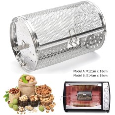 Jual 12 Cm X 18 Cm 4 7 X 7 1 Peanut Bbq Rotisserie Grill Roaster Drum Oven Biji Kopi Keranjang Intl Murah Di Tiongkok