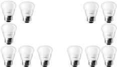 Toko 12Pcs Lampu Bohlam Led Philips 4W Watt 40Watt Putih Termurah Indonesia