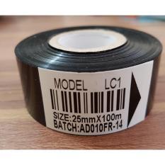 12pcs ribbon tape 25mm x 100m LC1 pita coding tinta cetak expired