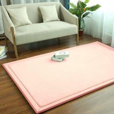 130*190 Cm Kamar Tidur Ruang Keluarga Keset Lantai Alas Sofa Karpet Lembut Pakaian Kaki Samping Kasur Tikar Tatami Bayi Karpet Bermain