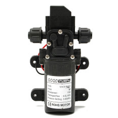 Jual 130Psi 6L Min Air Tekanan Tinggi Mampu Ber Defleksi Self Priming Pompa Dc12V 70 W Fl 3308 Intl Online
