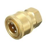 Harga 1 4 Tekanan Rilis Washer Selang Adaptor Konektor Plug Untuk Bsp1 4 Wanita Intl Baru Murah