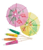 144 6 Color Cocktail Umbrella Logo Intl Promo Beli 1 Gratis 1