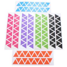 144 Pcs 3 Cm Confetti Triang Dinding Stiker Dekorasi Rumah Bayi Seni Dinding Kamar Anak Stiker