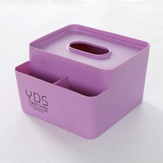 Jual 14 5 14 5 10 Cm Multi Fungsi Desktop Remote Control Kotak Penyimpanan Plastik Baki Pemompaan Desktop Multi Tujuan Tissue Box Intl Branded Murah