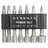 Spesifikasi 14 Pcs Power Nut Driver Drill Set Sae 1 4 16 Cm Shank Hex Metrik Socket Wrench Sekrup Internasional Oem Terbaru