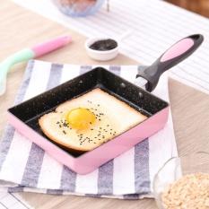 15X18 Cm Square Frying Pan Pan Jade Anak Terbakar Titanium Jepang Telur Tebal Bakar Batu Medis Pan Pan Intl Tiongkok Diskon