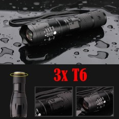Review Tentang 15000Lm 3T6 Led Zoomable Senter Lampu Torch Tahan Air 18650 Intl