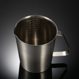 Jual Beli 1500 Ml Stainless Steel Milk Pitcher Jug Milk Foam Container Mengukur Cup Coffee Alat Dapur Baru Hong Kong Sar Tiongkok