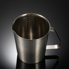 Harga 1500 Ml Stainless Steel Milk Pitcher Jug Milk Foam Container Mengukur Cup Coffee Alat Dapur Termurah