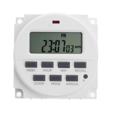 15.98 Inch LCD Digital Timer 220 V AC 7 Hari Programmable Time Switch TM618N-2-Intl