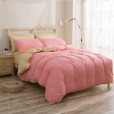Jual 1 5 M 3 Pcs 4 Pcs 2 Warna Aloe Cotton Peach Fabric India Cotton Bed Sheet Bedding Padat Queen King Size Duvet Cover Set Intl Branded Original