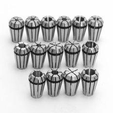 Harga 15 Pcs Er11 Spring Chuck Set Untuk Cnc Engraving Mesin Penggilingan Mesin Bubut Alat Pasang Sendiri Internasional Oem Asli