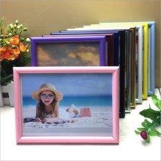 Jual 16 30X40 Cm Plastik Bingkai Foto Gambar Dekorasi Rumah Hadiah Ulang Tahun Hitam Intl Oem Original