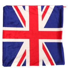 16 ''Us Inggris Bendera Nasional Bantal Case Sarung Bantal Tas Tempat Tidur Sofa Rumah Xmas Dekorasi-Intl