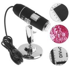 Jual 1600X2 Mp Usb 8 Led Digital Mikroskop Digital Dengan Metal Stand Intl Oem Grosir
