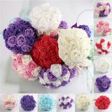 Promo Toko 17 X Busa Mawar Kerajinan Buatan Bunga Buket Bunga Pengantin Bridal Partai Pernikahan Dekorasi Gading Berwarna Merah Muda Ungu