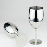 Harga 17 Cm Stainless Steel Red Wine Glass Goblet Kreatif Gelas Anggur Anggur Kaca Internasional Original
