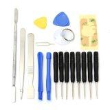 Toko 18 In1 Mobile Repair Opening Tools Kit Set Pry Screwdriver For Cellphone Tablet Lengkap Tiongkok