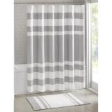 Harga 183X183 Cm Spa Waffle Bath Shower Curtain Grey Intl Asli