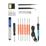 Beli 18Pcs Set Soldering Tools Kit 60W 220V Eu Plug Adjustable Temperature Soldering Iron Desoldering Pump Iron Stand Solder Tips With Storage Bag Intl Nyicil