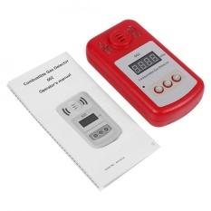 1 PC 300-10000PPM Terbakar Sinar Matahari Gas Metana Alam Leak Detector dengan Suara Alarm & Cahaya Flash-Intl