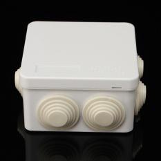 1 PC 5-Aneka Waterproof Elektronik Enclosure Proyek PCB DIY Box Case Cover 85*85*50-Intl