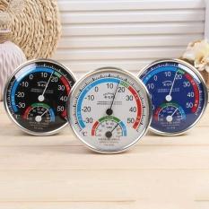 1 PC Rumah Tangga Celcius Multifungsi Thermometer Hygrometer Mini Suhu Pemantauan Karton Pak Meter-Internasional