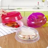 Toko 1 Pc Dapur Makanan Pp Plastik Besar Microwave Makanan Dish Cover Plate Ventilasi Uap Splatter Lid Tool 4 Colors High Kualitas Intl Terlengkap Di Tiongkok