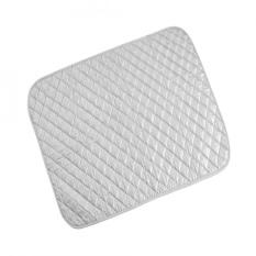 1 PC Portable Lipat Cotton Ironing Mat Silver Laundry Pad Penggunaan Rumah Tangga (60*55 Cm)-Intl