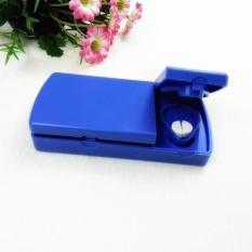 1 PC Portable Baja Anti Karat Pisau Pemisah Obat Pemotong Tablet-Intl
