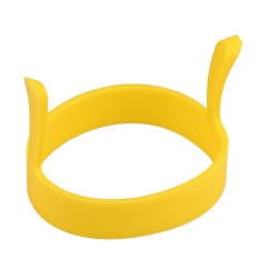 1 Buah Bulat Telur Goreng Pancake Silikon Alat Cetakan Cincin Pemburu (kuning)-International