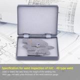 Promo 1 Pc Stainless Steel Hjc 40 Welding Gauge Welded Permukaan Sendi Undercut Tinggi Gage Intl Di Tiongkok
