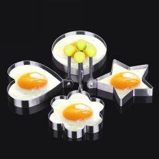 1 Buah Dapur Stainless Steel Cetakan Pancake Cetakan Ring Bulat Telur Goreng Masak Pembentuk