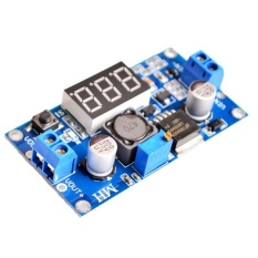 Cara Beli 1 Pcs Lm2596 Lm2596S Power Modul Led Voltmeter Dc Dc Adjustable Step Down Power Supply Modul Dengan Tampilan Digital Intl