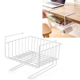 Harga 1X Multi Purpose Metal Hanging Under Shelf Keranjang Penyimpanan Pemegang Hanger Laci Closet Organizer Basket Wrap Rack Bookcase Stand Intl Oem Asli
