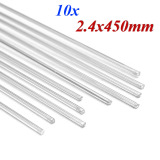 Harga 2 4Mm Aluminium Suhu Rendah Mematri Batang For Aluminium Perbaikan 10 Potong X 450Mm Internasional Fullset Murah
