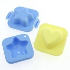 2 Buah Cetakan Telur dan Nasi - Cetakan Bento Bekal Makan - Egg Mold