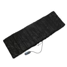 2 IN 1 9 Motor Massaging Back Massage Seat Pad Neck Massager Chair Cushion Car A - intl