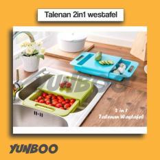 2 In 1 Talenan Wastafel (Tirisan Air Langsung Turun Ke Wastafel) - Hw9ryj