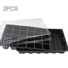 Spesifikasi 2 Pcs Baki Bibit Sprout Plate 24 Lubang Pot Pembibitan Baki Tebal Kotak Untuk Berkebun Bonsai Mini Pembibitan Rumah Kaca Plate Tiga Set Intl