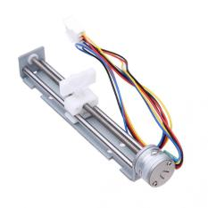 2 Fase 4 Kawat DC 4-9 V Drive Stepper Motor Screw dengan Nut Slider (Intl) -Intl