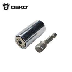 Toko 2 Piece Gator Grip Universal Socket Multi Fungsi Tangan Tool Set Repair Kit Tukang Kunci Obeng Wrench Adapter Multitool Lengkap Tiongkok
