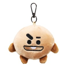 2 x Plush Keychain Key Ring Doll Toy For KPOP BTS BT21 CHIMMY COOKY MANG KOYA SHOOKY - intl