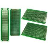 Harga 20 Pcs Double Sided Pcb Board Kit Prototipe Universal Fiberglass Board 4 Ukuran 5X7 4X6 3X7 2X8 Cm Intl Branded