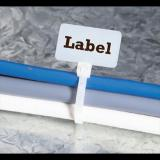 Spesifikasi 200 Pcs Maker Tie Pengikat Kabel Label 2 5X100 Mm Cable Ties Label Name Tag Bagus