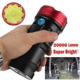 Spesifikasi 20000 Lumen 10X Xml T6 Led Senter Obor Taktis Berburu Lampu Kerja Intl Murah Berkualitas